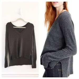 J.Crew V Neck Sweater in Supersoft Yarn